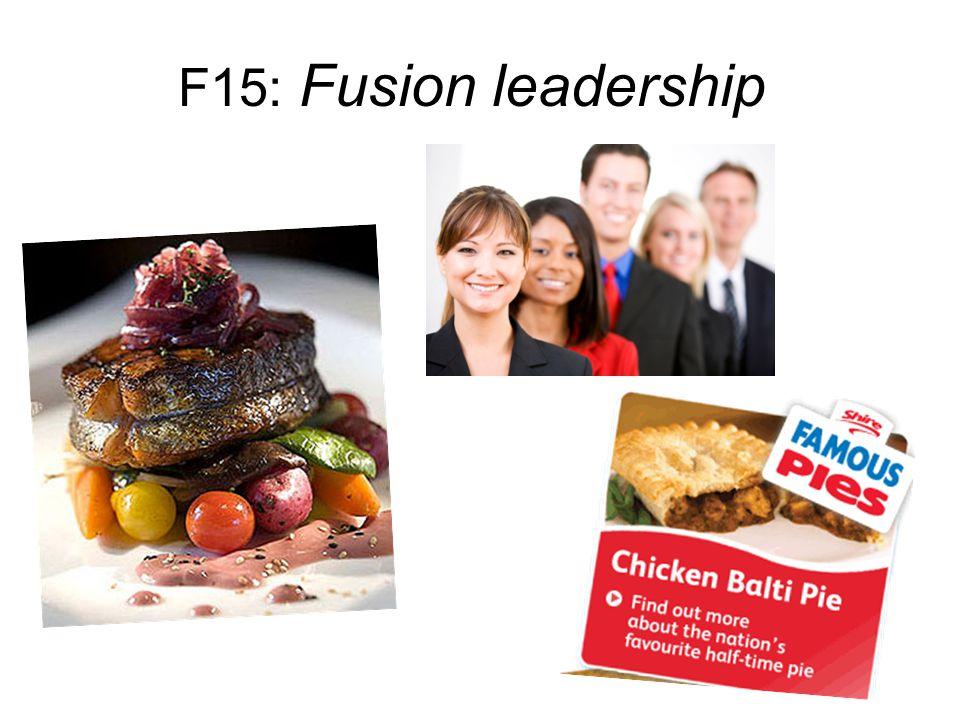 F15: Fusion leadership