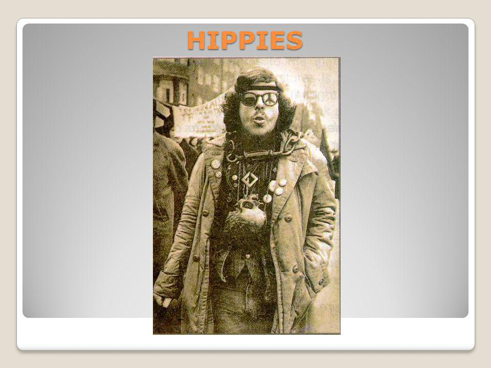 Hippy subculture went through 3 phases.The first phase was in 60s- 80s.