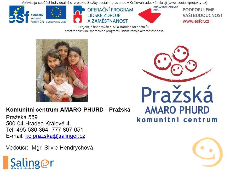 Projekt je financován z ESF a státního rozpočtu ČR prostřednictvím Operačního programu Lidské zdroje a zaměstnanost.