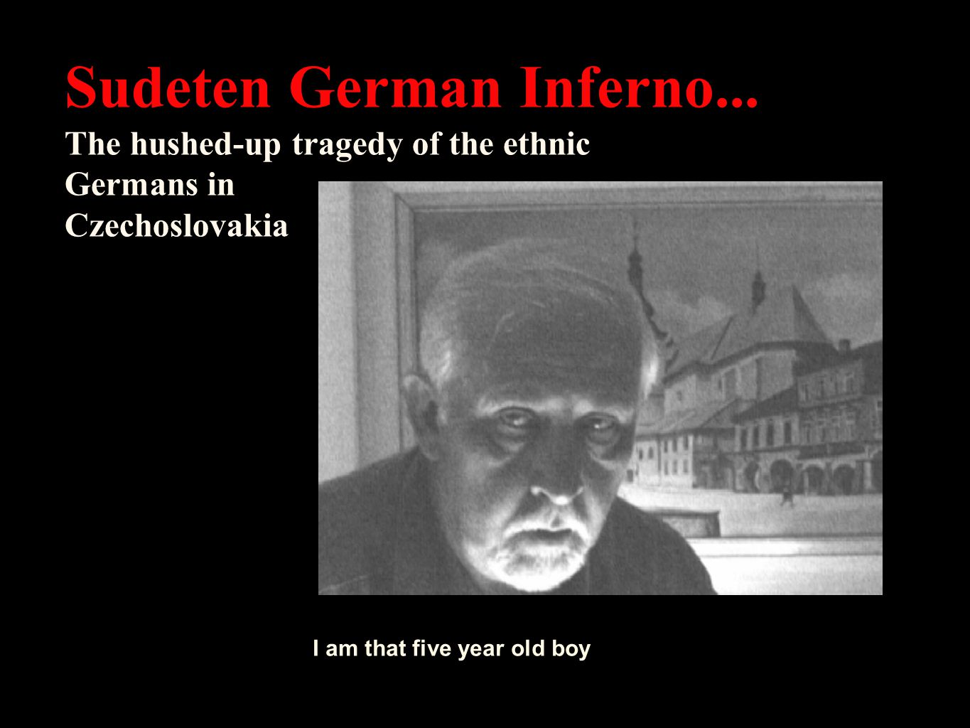 After the war ended in 1945, one of the most gruesome genocides took place that the history of mankind has ever seen: the expulsion and destruction of the Sudeten Germans.