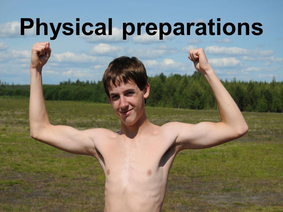Physical preparations