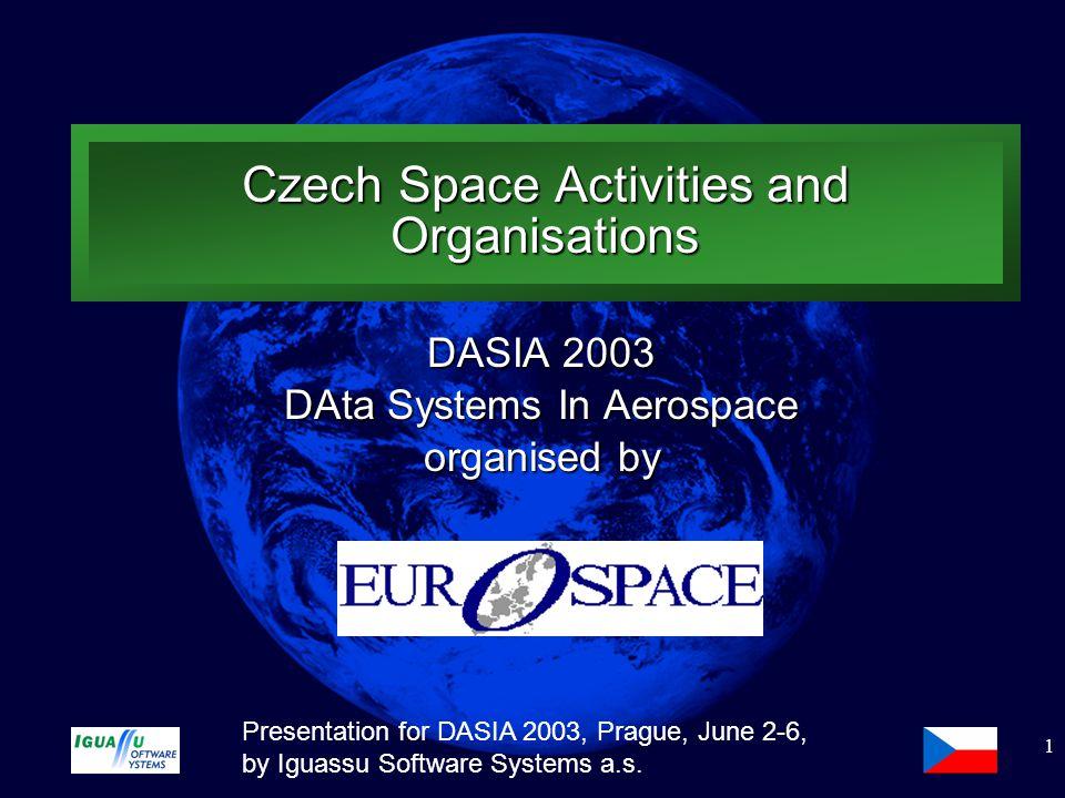 Slide 2 Presentation for DASIA 2003, Prague, June 2-6, by Iguassu Software Systems a.s.