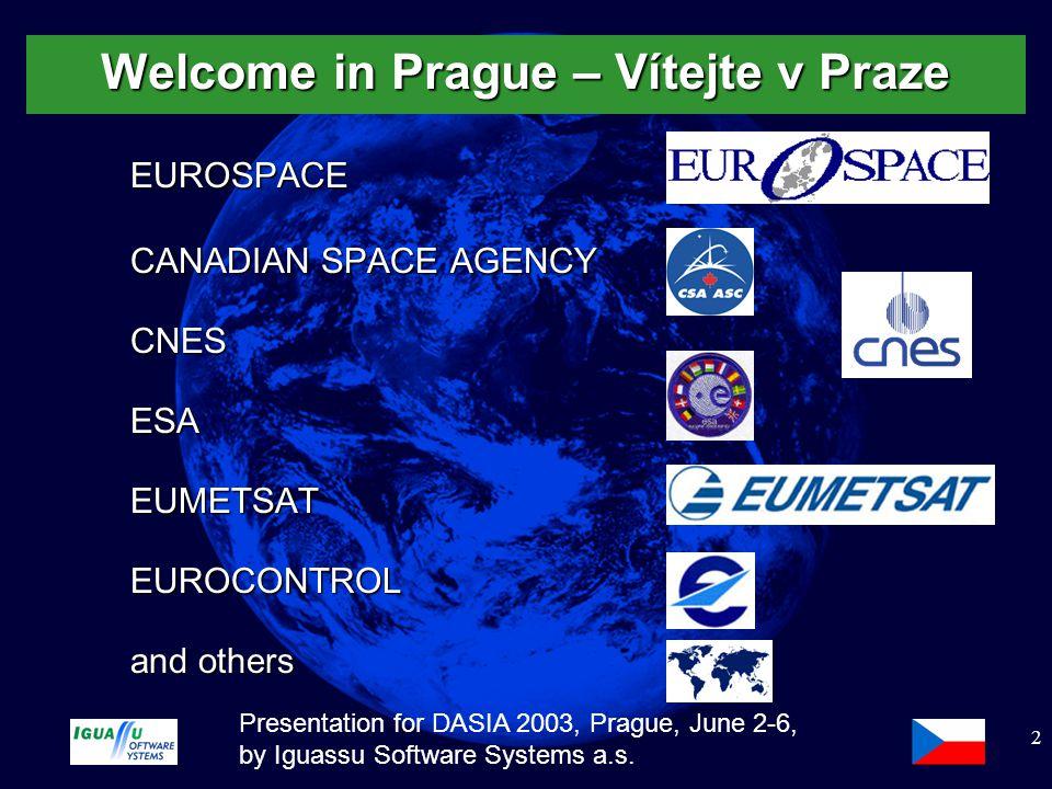 Slide 3 Presentation for DASIA 2003, Prague, June 2-6, by Iguassu Software Systems a.s.