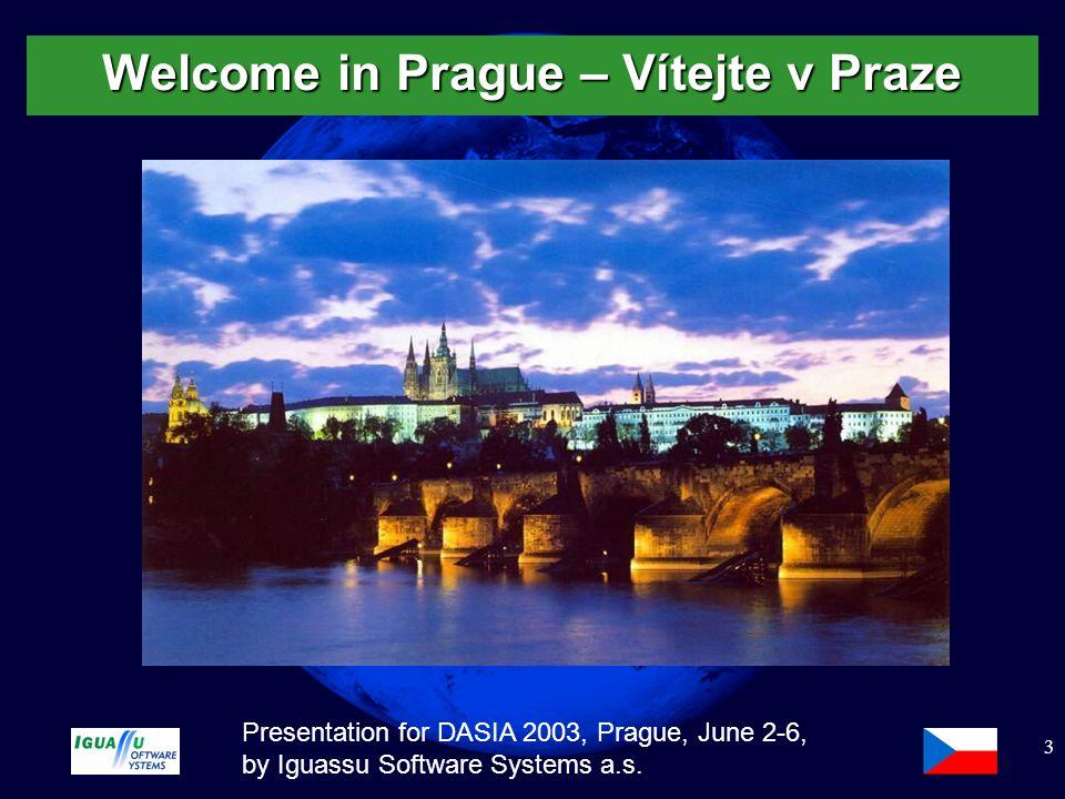 Slide 4 Presentation for DASIA 2003, Prague, June 2-6, by Iguassu Software Systems a.s.