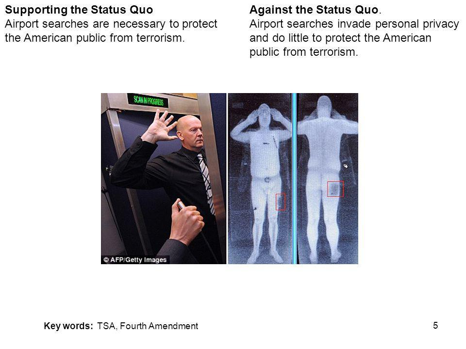 5 Against the Status Quo.