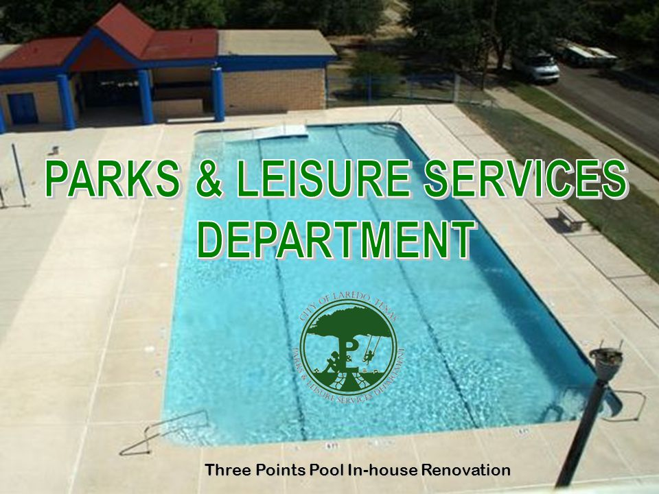 DEPARTMENT OF PARKS & LEISURE SERVICES TOTAL BUDGET $10,632,907