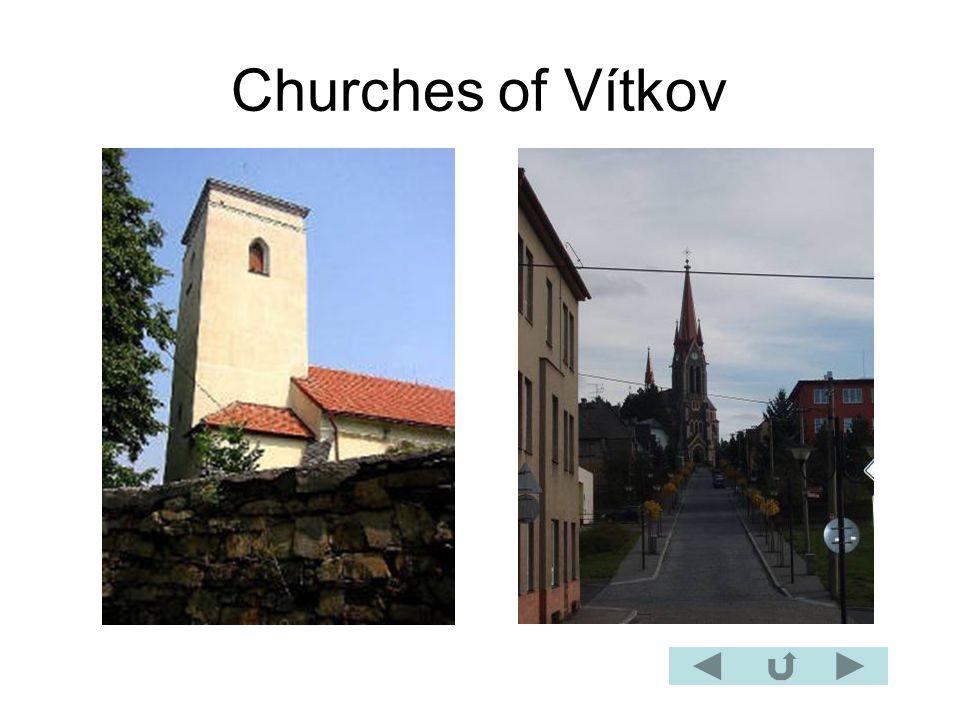 Churches of Vítkov
