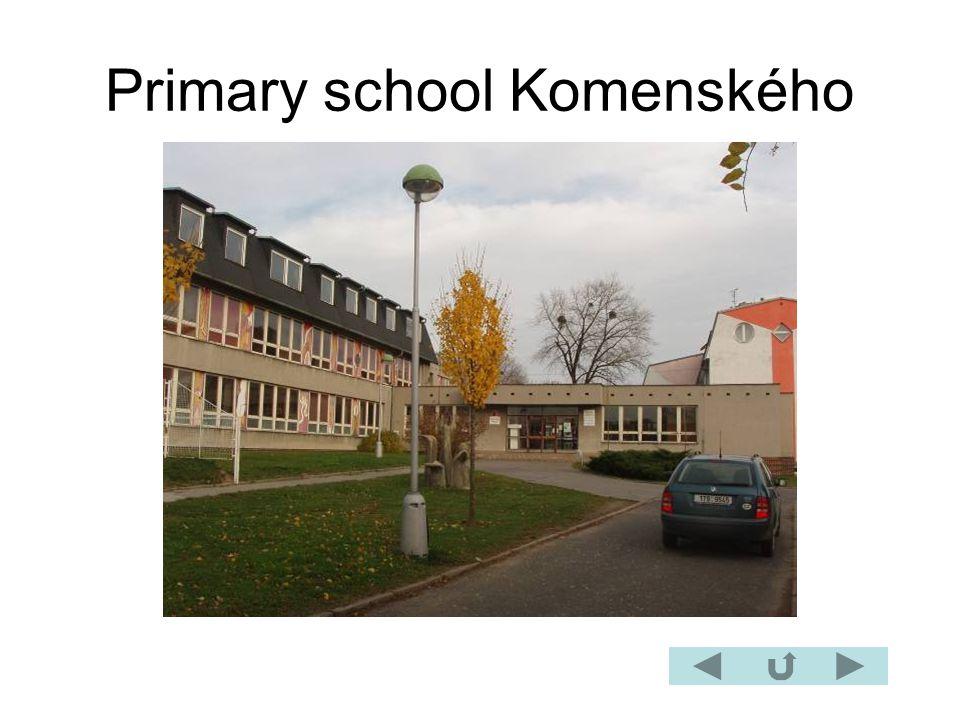 Primary school Komenského