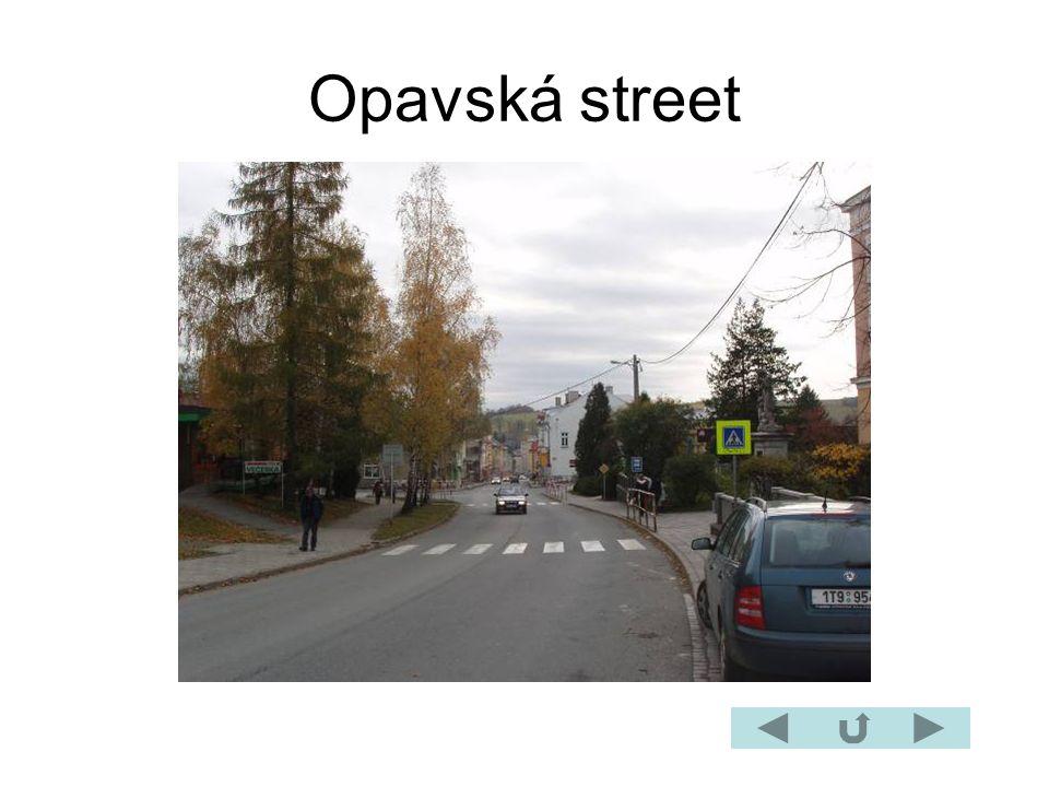 Opavská street