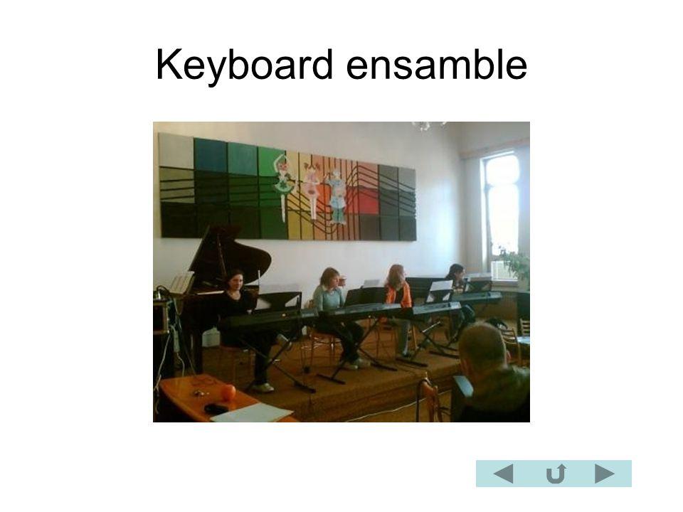 Keyboard ensamble
