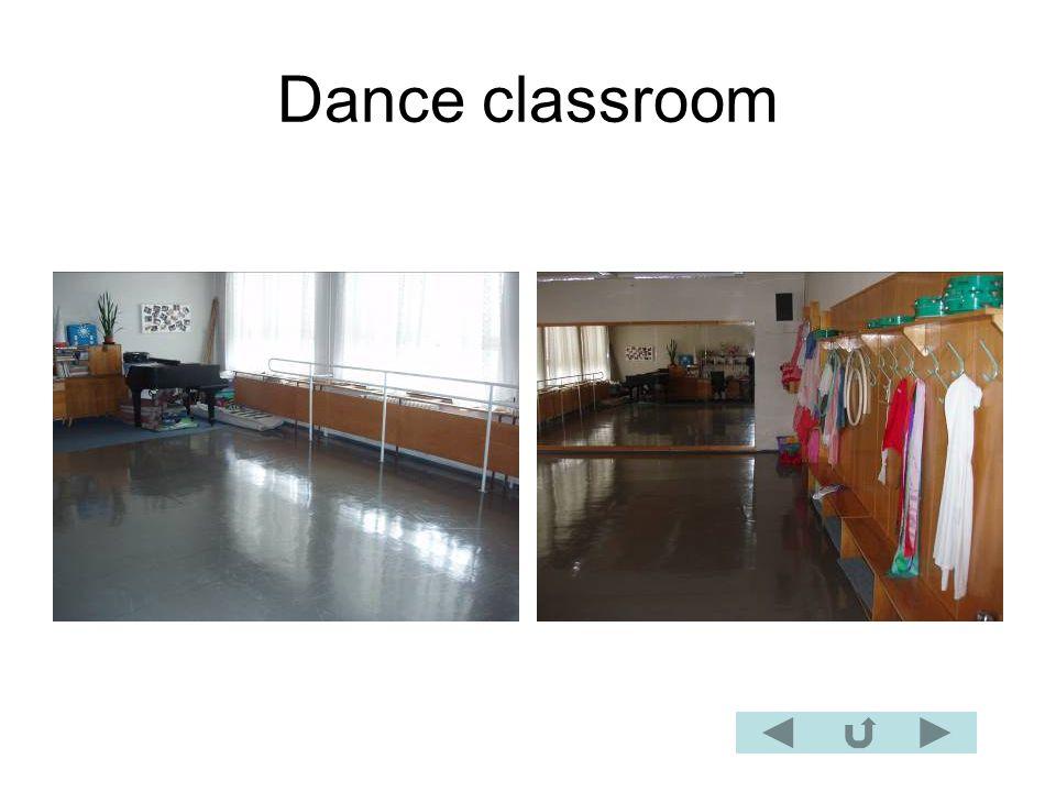 Dance classroom