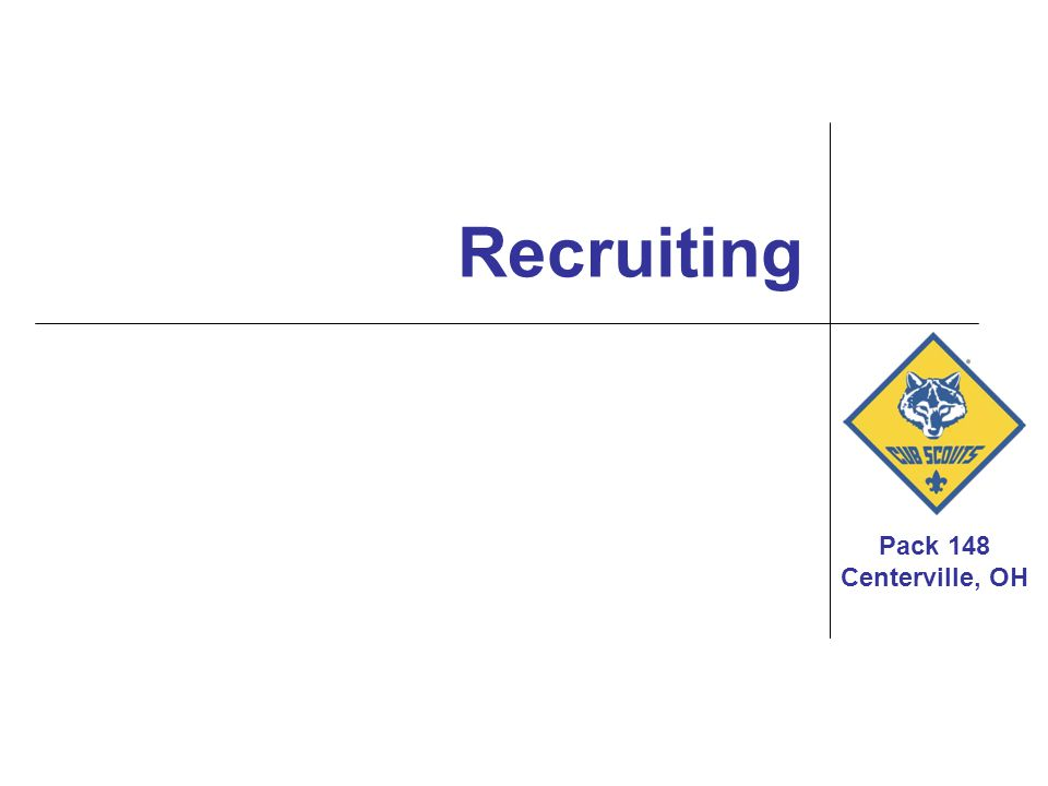 Pack 148 Recruiting – What Works?