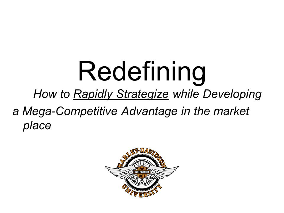 Redefining How to Rapidly Strategize while Developing a Mega-Competitive Advantage in the market place
