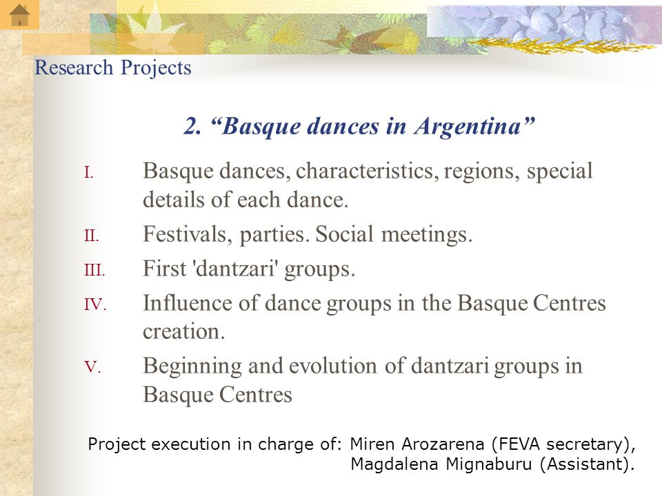 2. Basque dances in Argentina I.
