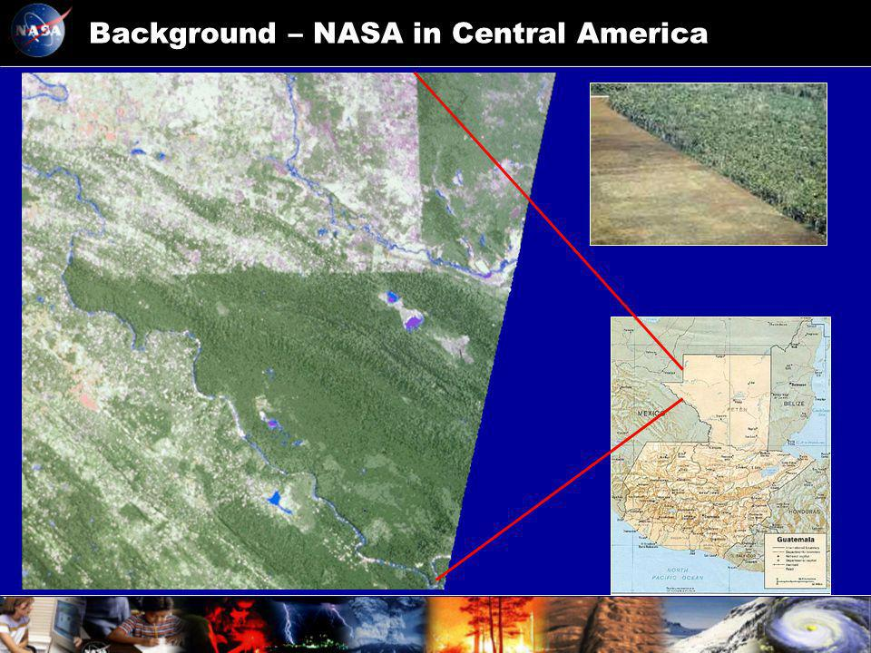 Background – NASA in Central America