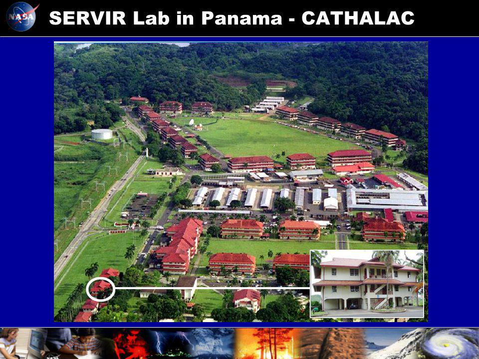 SERVIR Lab in Panama - CATHALAC