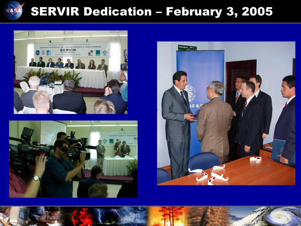 SERVIR Dedication – February 3, 2005