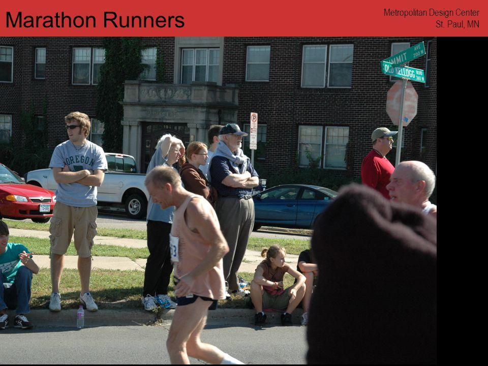 www.annforsyth.net Marathon Runners Metropolitan Design Center St. Paul, MN