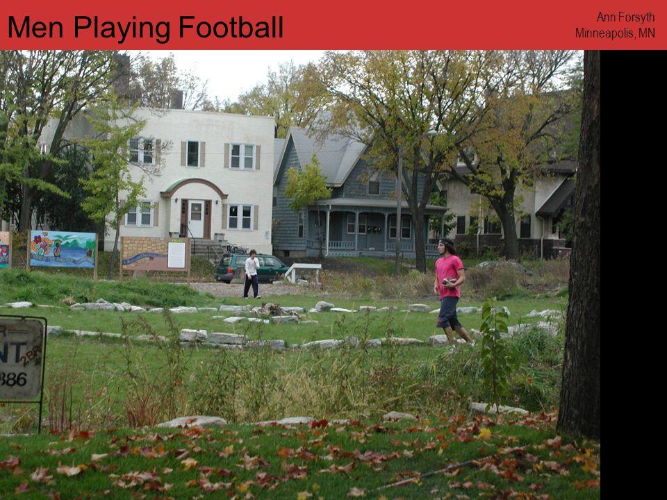 www.annforsyth.net Men Playing Football Ann Forsyth Minneapolis, MN
