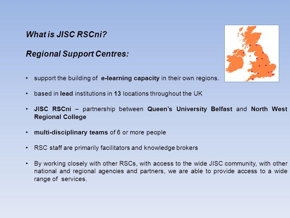What is JISC RSCni.