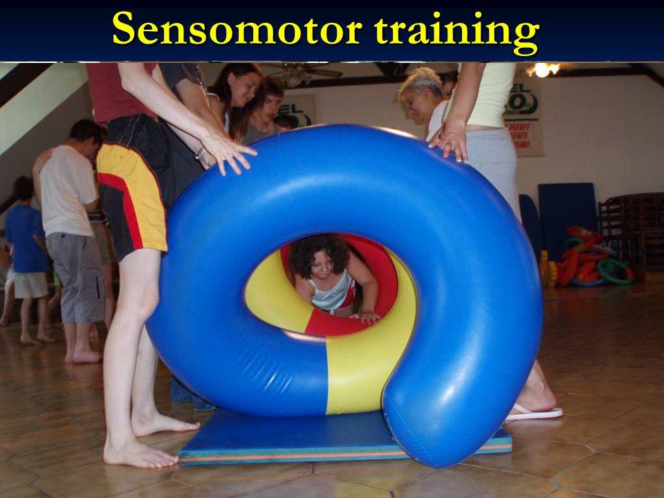 Sensomotor training