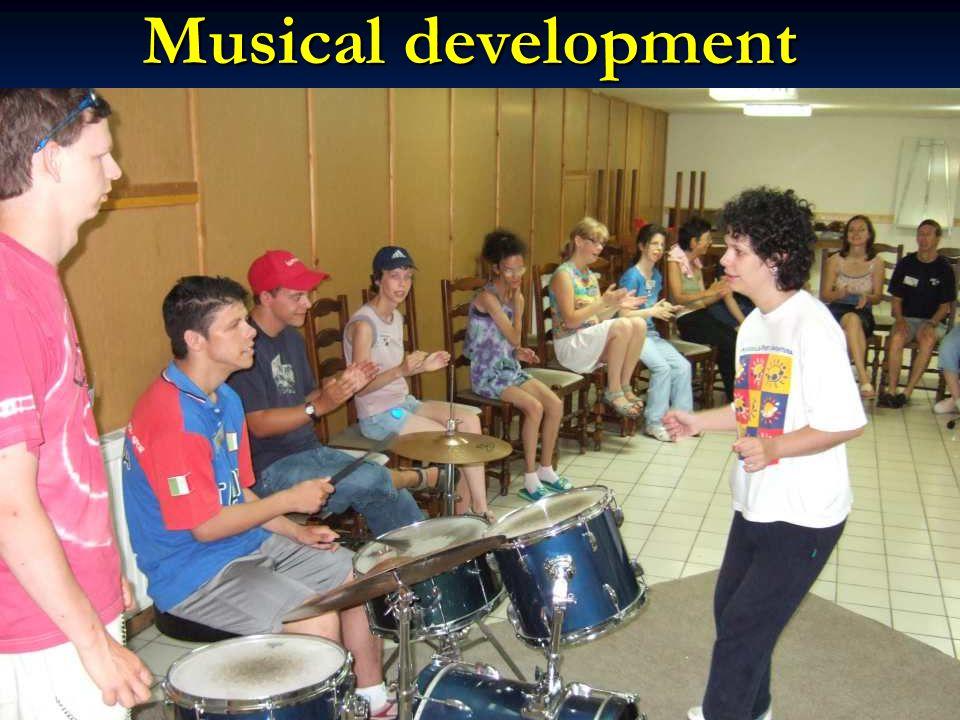 Musical development