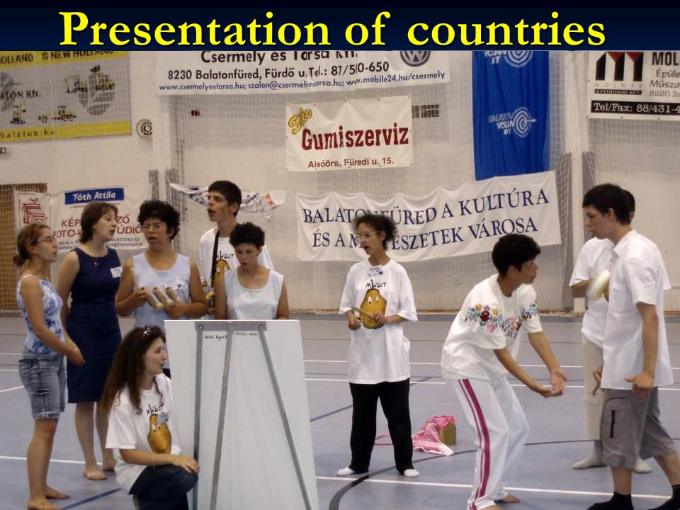 Presentation of countries