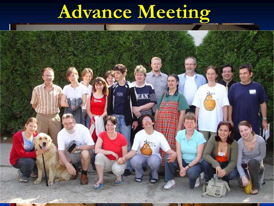 Advance Meeting