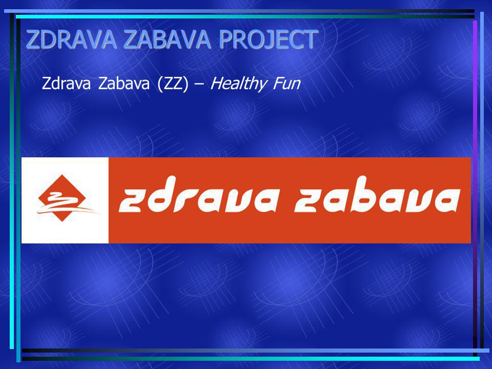 ZDRAVA ZABAVA PROJECT Zdrava Zabava (ZZ) – Healthy Fun