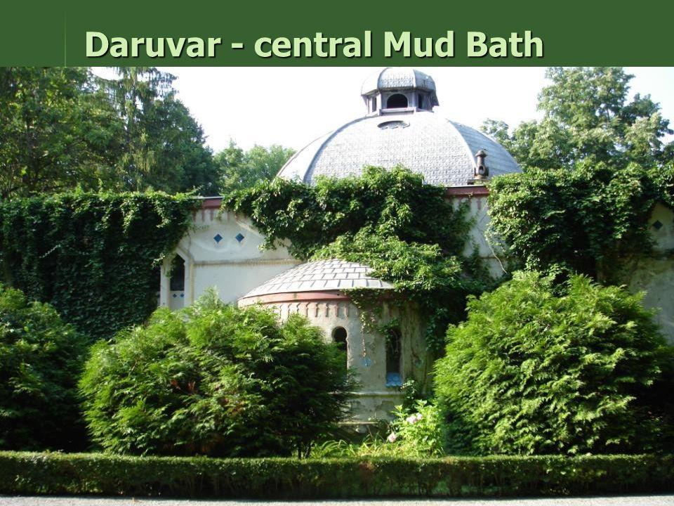 Daruvar - central Mud Bath