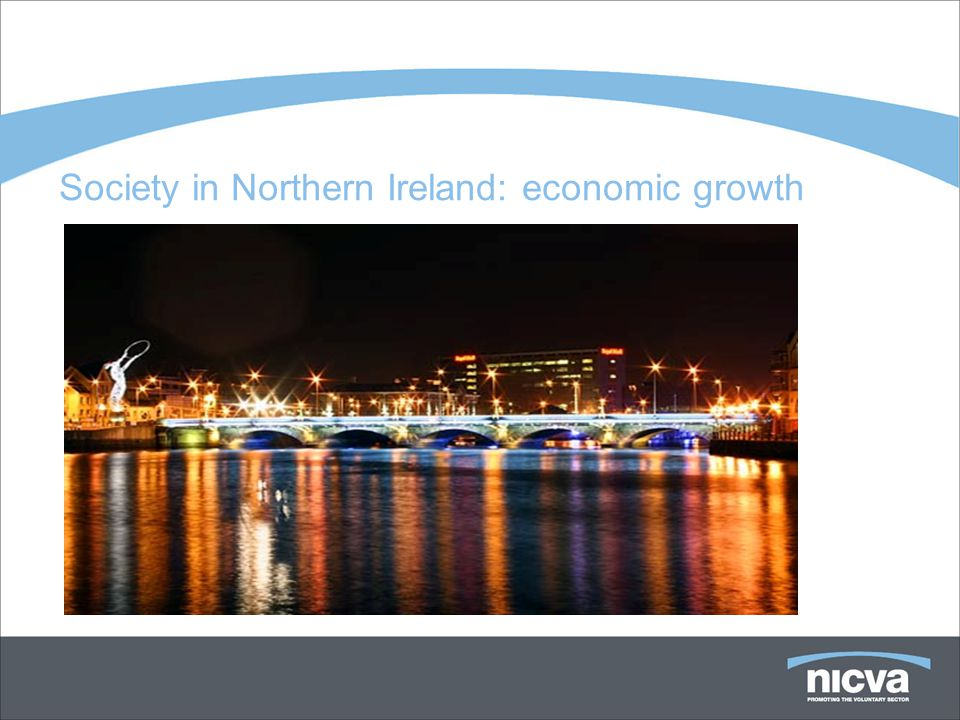Society in Northern Ireland: economic growth