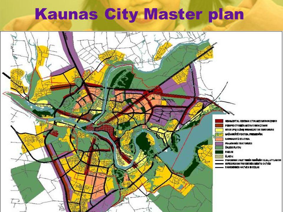 Kaunas City Master plan Kaunas Strategic plan 2005-2015;