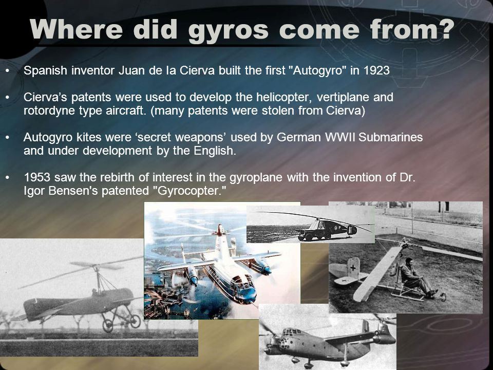Where are gyros going.Carter Copters are breaking the rotorcraft speed record.