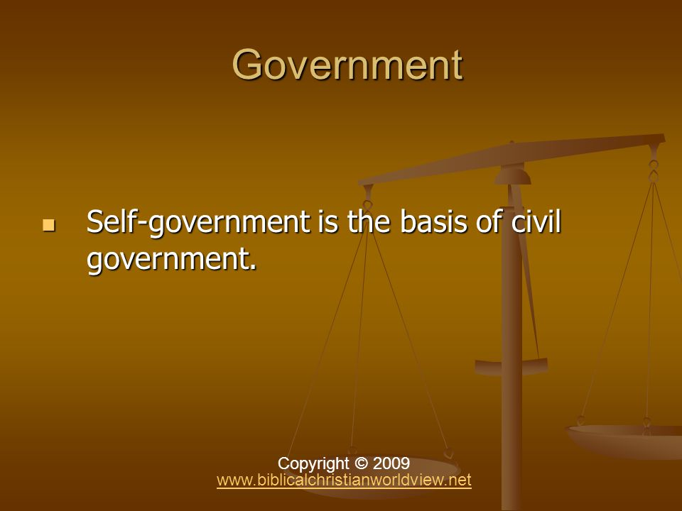Government Government John Adams, second president of the United States under the Constitution of 1787, We have no government armed with power capable of contending with human passions unbridled by morality and religion.