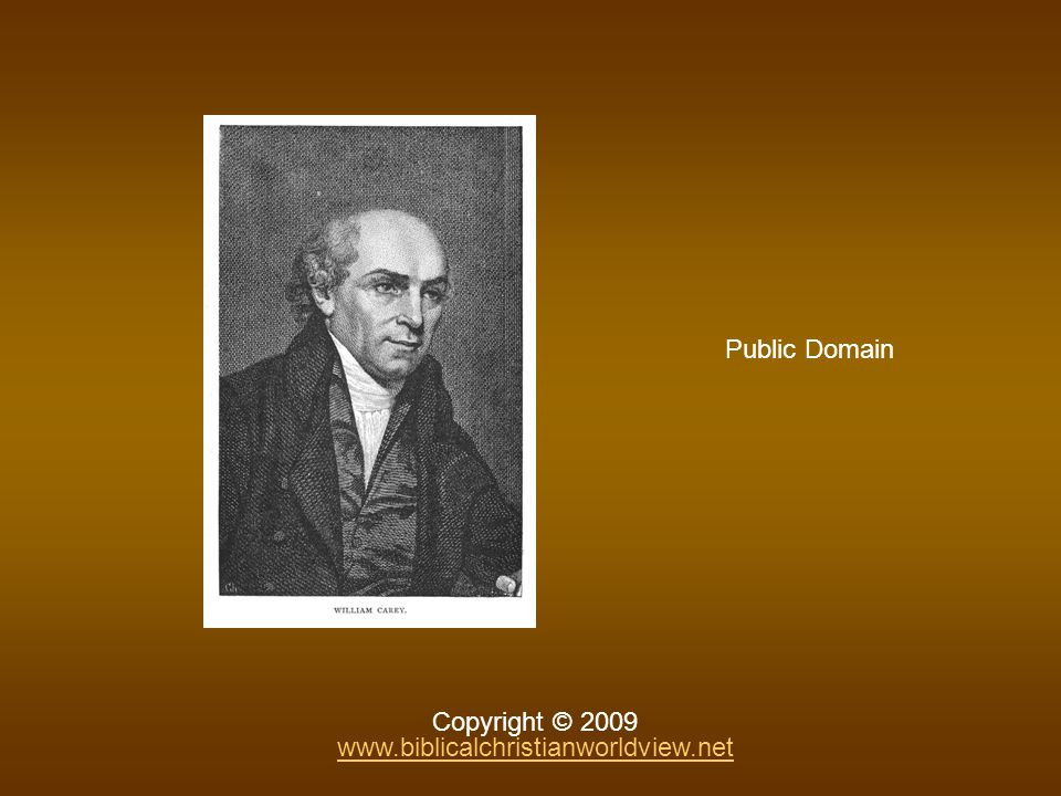 Public Domain Copyright © 2009 www.biblicalchristianworldview.net