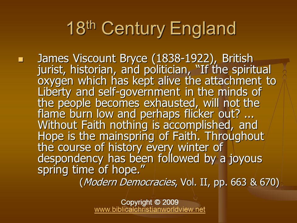 England After Wesley … … And Can It Be That I Should Gain) – v.