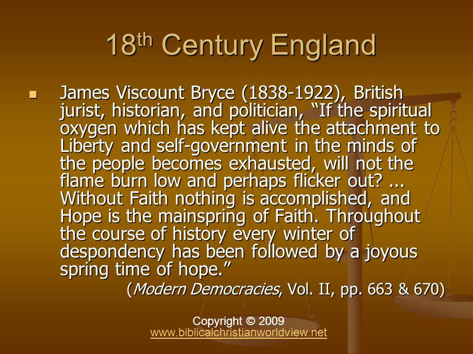 England Before Wesley … England Before Wesley … Purge of Light.