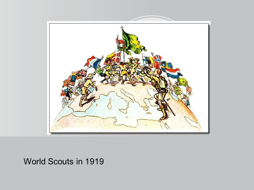World Scouts in 1919
