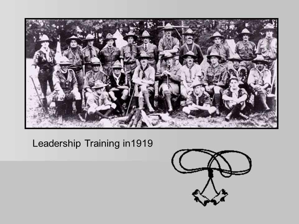 Leadership Training in1919