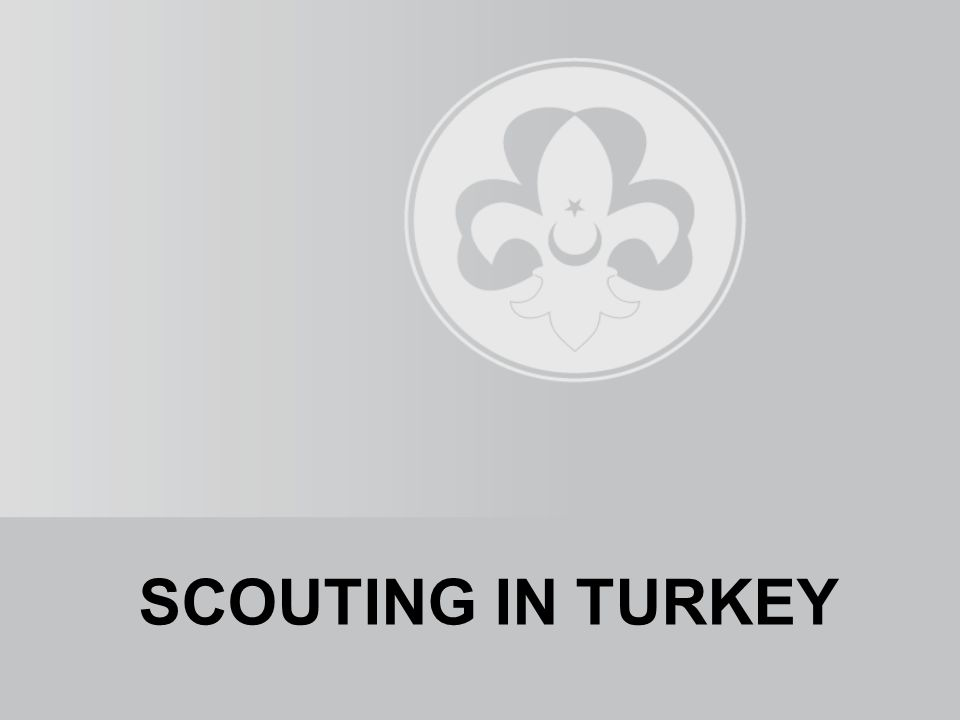 SCOUTING IN TURKEY