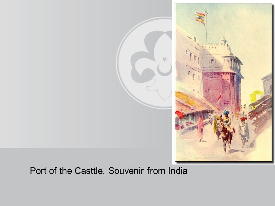 The painting presented to BP in 1929 is still in the BP museum and its copy is in Geneva in The World Scouting Bureau.