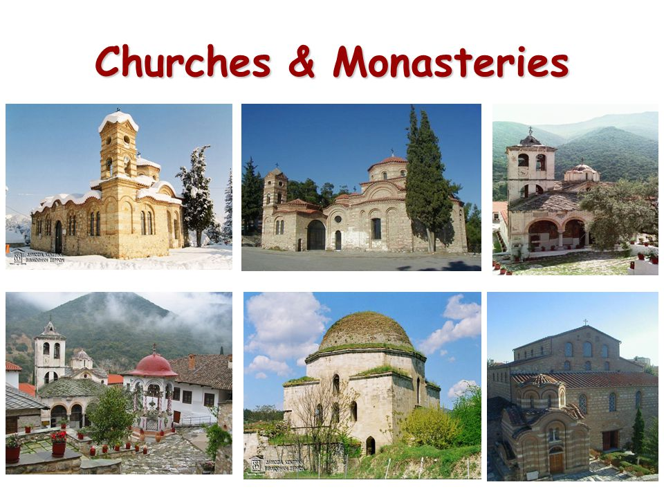 Churches & Monasteries
