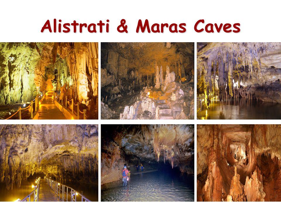 Alistrati & Maras Caves