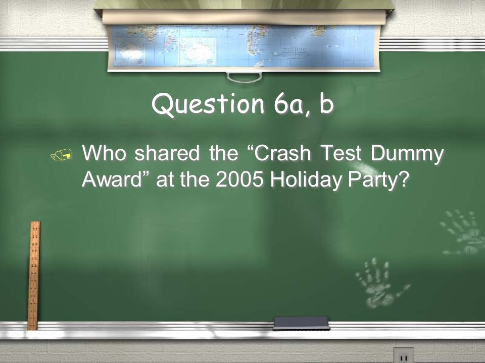 Question 7a, b Name two riders who have won the Ed Yun Ironbutt Award that are not named Ed Yun.