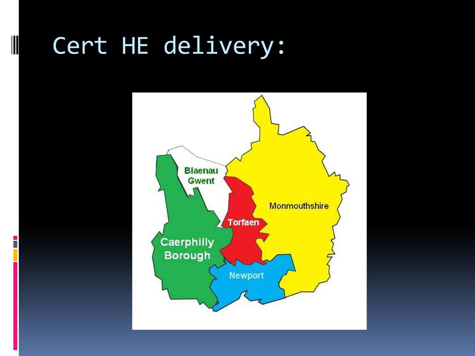 Cert HE delivery: