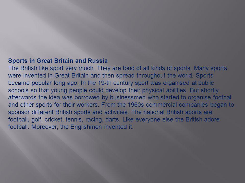Golf is Scotland s chief contribution to British sport.