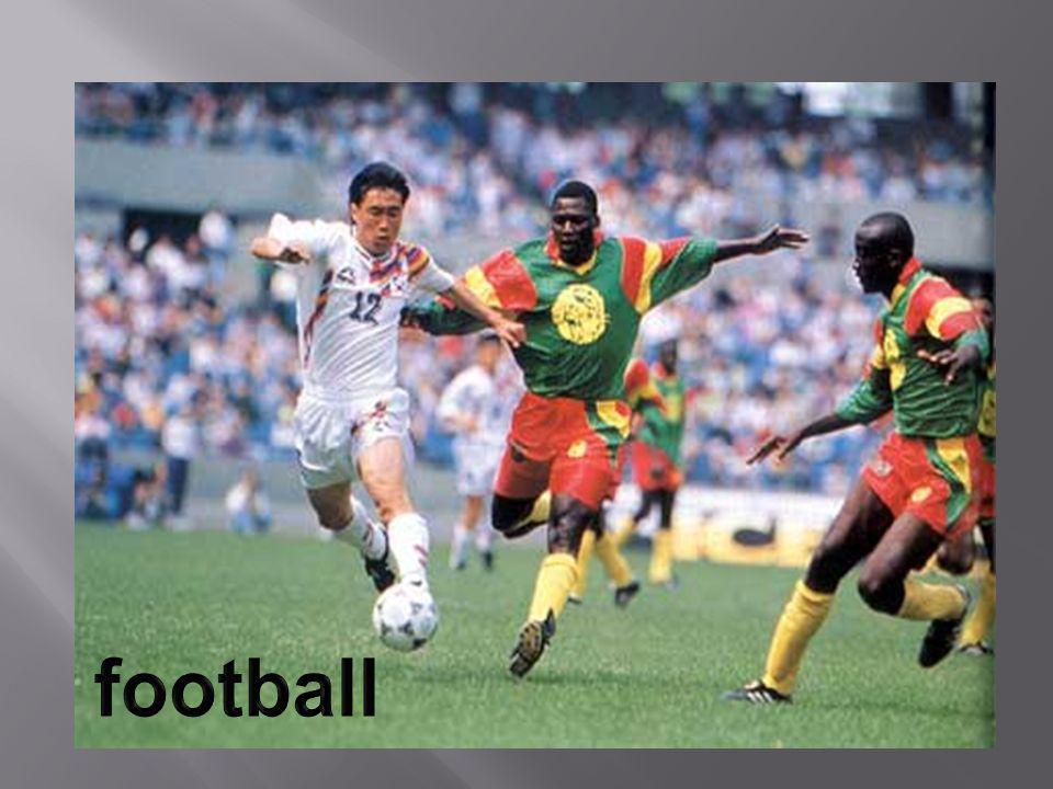 Lat s take Football for example.It is the most popular team game in Britain.