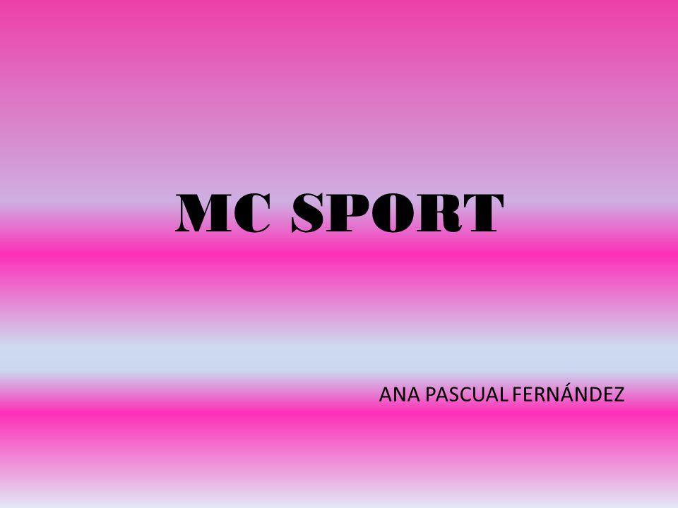 MC SPORT ANA PASCUAL FERNÁNDEZ