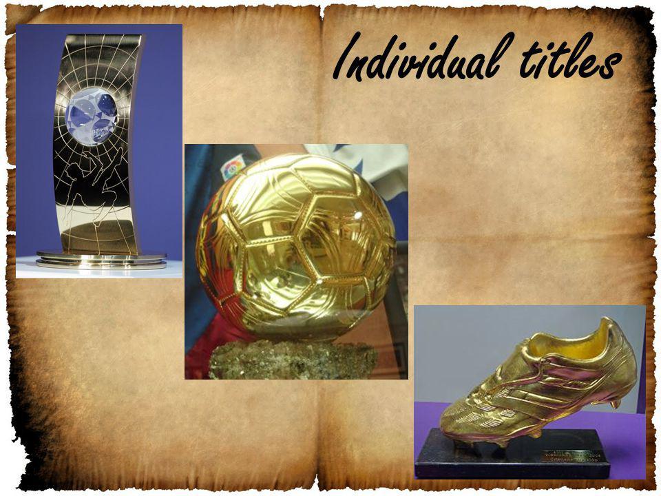 Individual titles