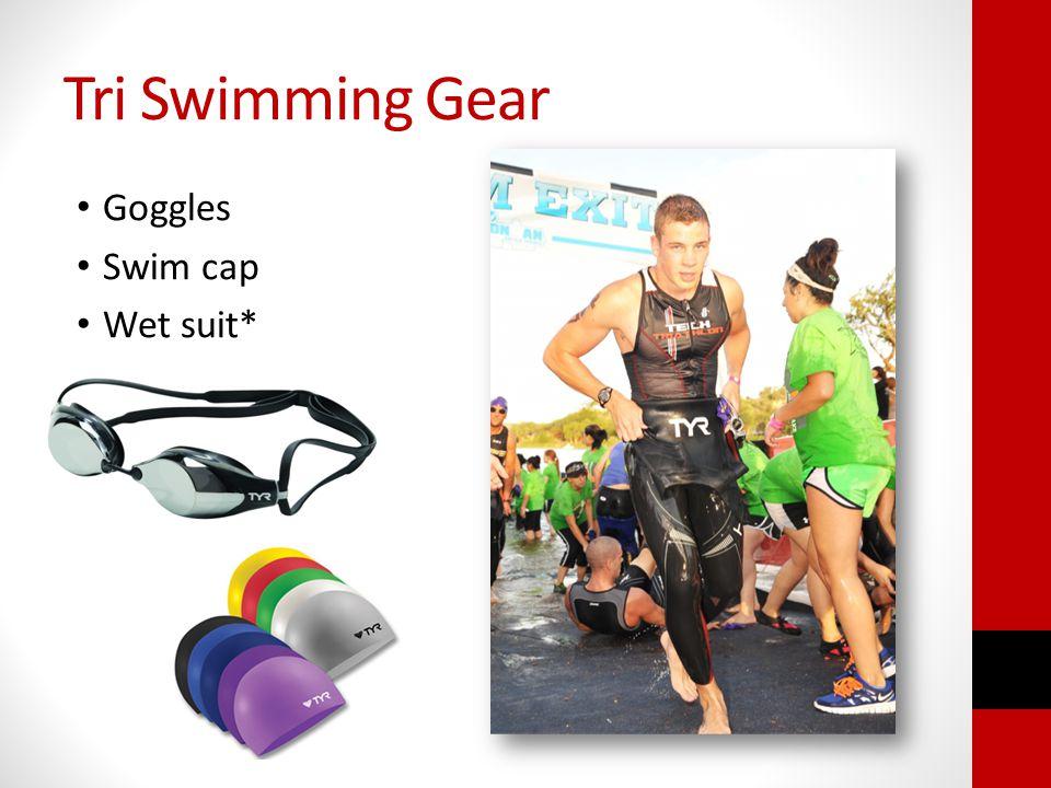 Tri Swimming Gear Goggles Swim cap Wet suit*